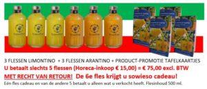 kennismakingspakket Sardiniaproducts voor horeca