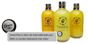 Limoncello LimonTino bekroond met zilver